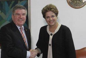 COI invita a Rousseff a participar en relevo de antorcha