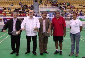 Castillo destaca buen momento badminton RD