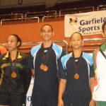 RD logra plata y bronce en Badminton Carebaco