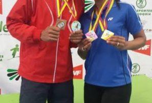 Bádminton RD gana tres bronce y una plata en Colombia