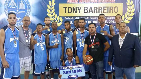 Centro Universitario San Juan, campeón baloncesto