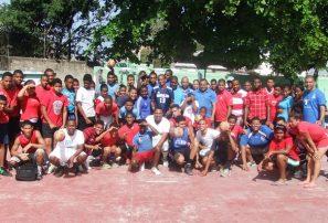 Balonmano celebra amistoso entre asociaciones