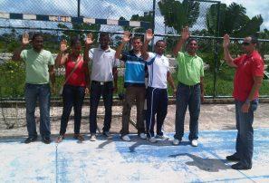 Juramentan asociación balonmano Bayaguana