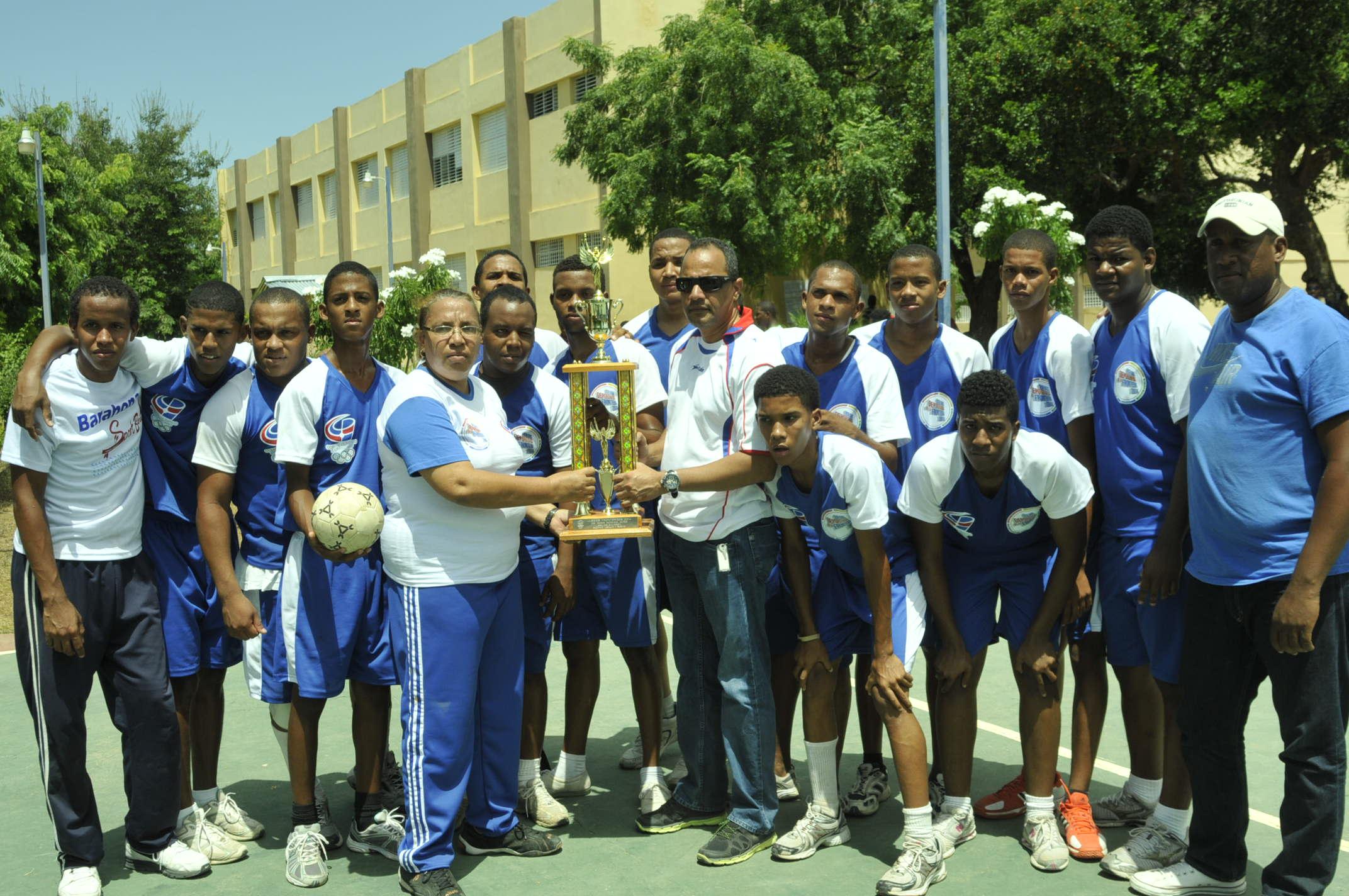 Provincia Independencia, campeón balonmano fronterizos