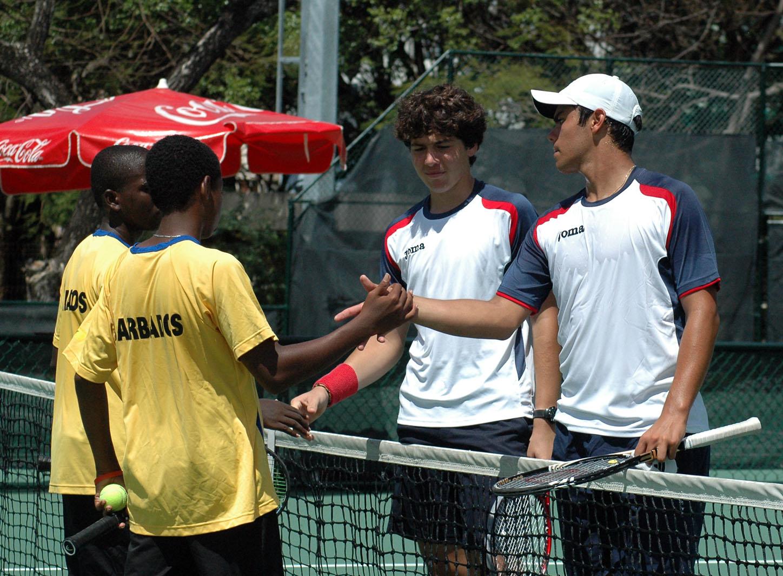 Equipo RD barre a Barbados en Junior Davis Cup