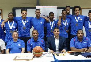 Uribe resalta clasificación al Mundial Basket U19