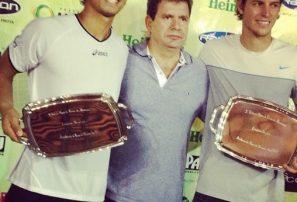 """""""Bebo"""" Hernández gana torneo de dobles en Brasil"""