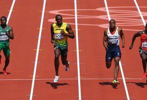 Usain Bolt pasó a las semifinales 100 metros