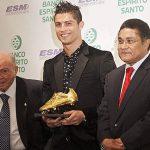 Cristiano recibe segunda Bota de Oro