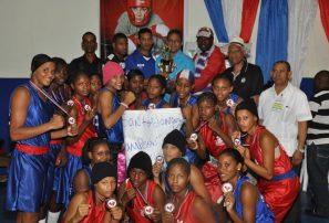 Santo Domingo gana Torneo Nacional Boxeo Femenino