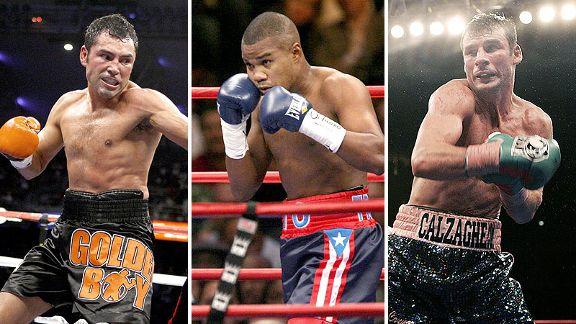 Tres grandes a Salón Fama del boxeo