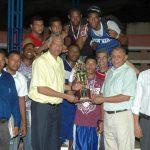 DN campeón Torneo Nacional de Boxeo Elite