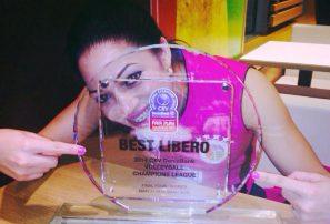 Brenda premiada en Liga de Campeones de Europa