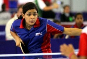 Eva Brito conquista oro torneo Junior Open Latino Tenis Mesa