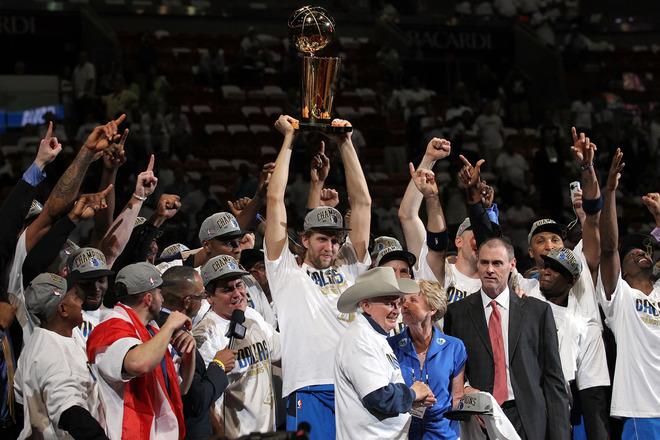 Mavericks derrota al Heat y es campeón NBA