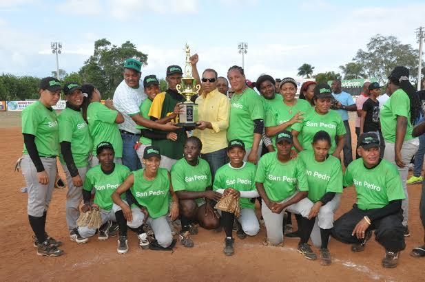 San Pedro gana Copa Duarte Softbol Chata Femenino