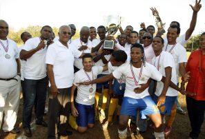 Deportivo Pantoja, campeón Liga Mayor de Fútbol