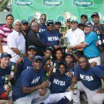 Neyba campeón softbol molinete Fronterizo
