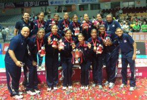 RD quedó en segundo lugar en torneo voleibol China