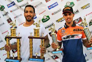Raynear Mejía conquista clásico motocross