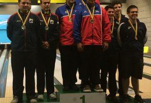 Trío masculino, oro; femenino, bronce en Iberoamericano