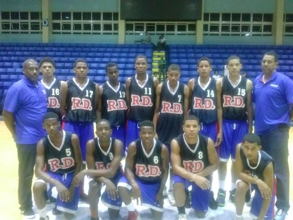 RD en grupo D para mundial de basket sub-17
