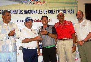 Alverio y Sánchez ganan versión 49 de Campeonatos de Fedogolf
