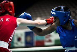 Estafani Almánzar tras plata mundial boxeo Taiwán