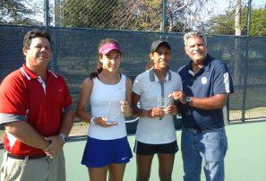 Morales y Portillo, campeonas de los dobles en el JITIC