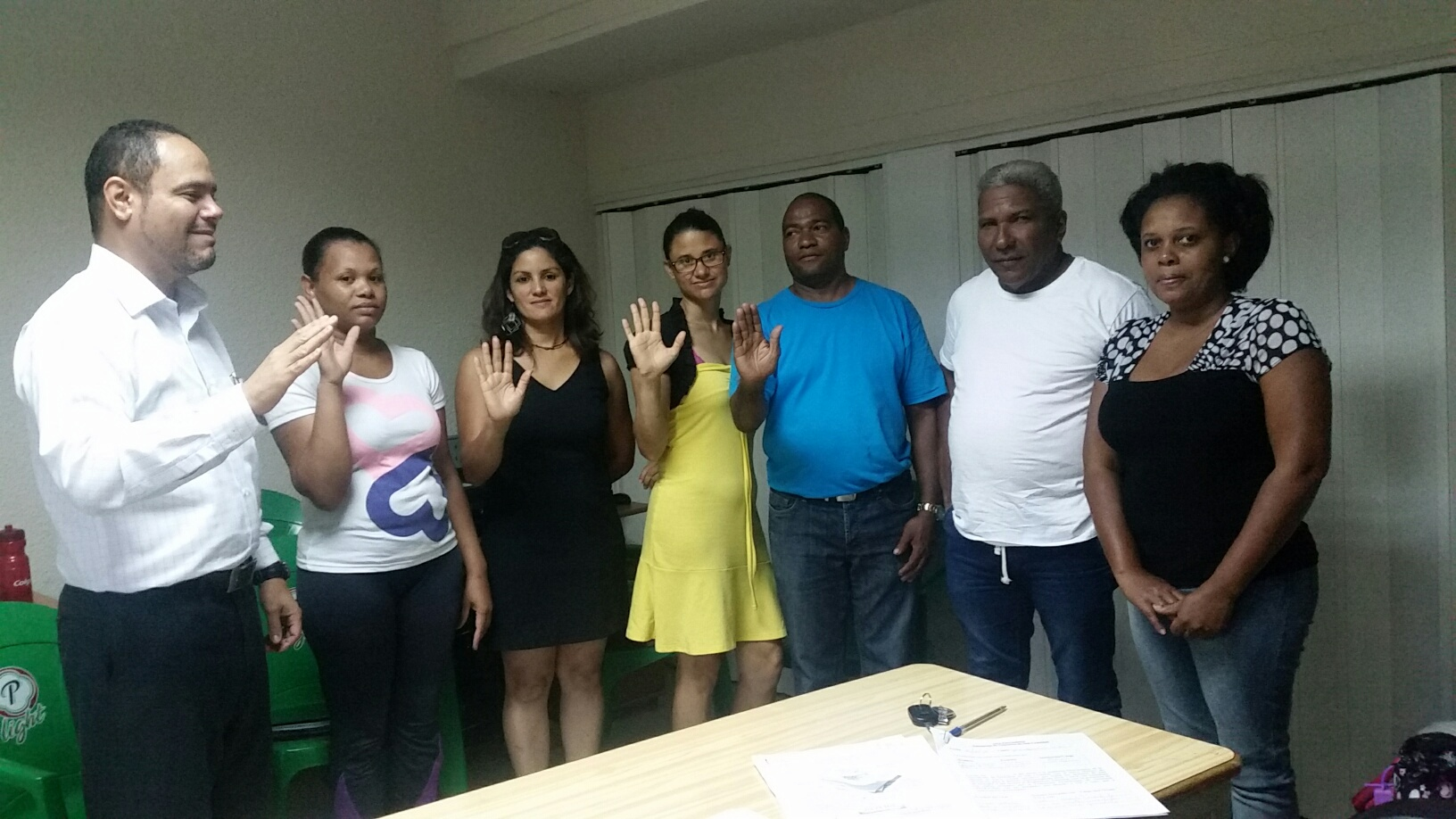 Nina, reelecto presidente asociación gimnasia SC