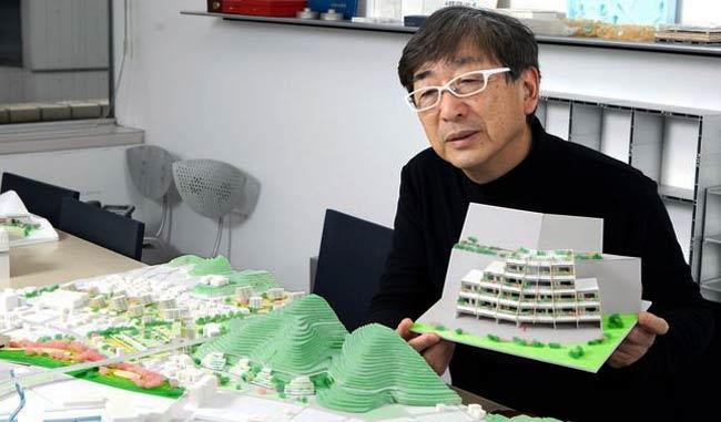 Kengo Kuma diseñará nuevo estadio olímpico Tokio 2020