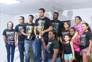 Club Tavarez Judo, campeón absoluto torneo infantil