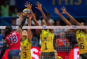 Brasil termina con aspiración sexteto RD en mundial