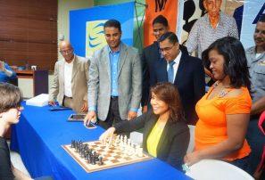 Puntier, Abreu y Guzmán toman la delantera en ajedrez