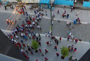 Alarma provoca pánico en edificio aloja delegación RD