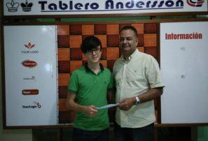 Alejandro Nieto, campeón de ajedrez del Distrito Nacional