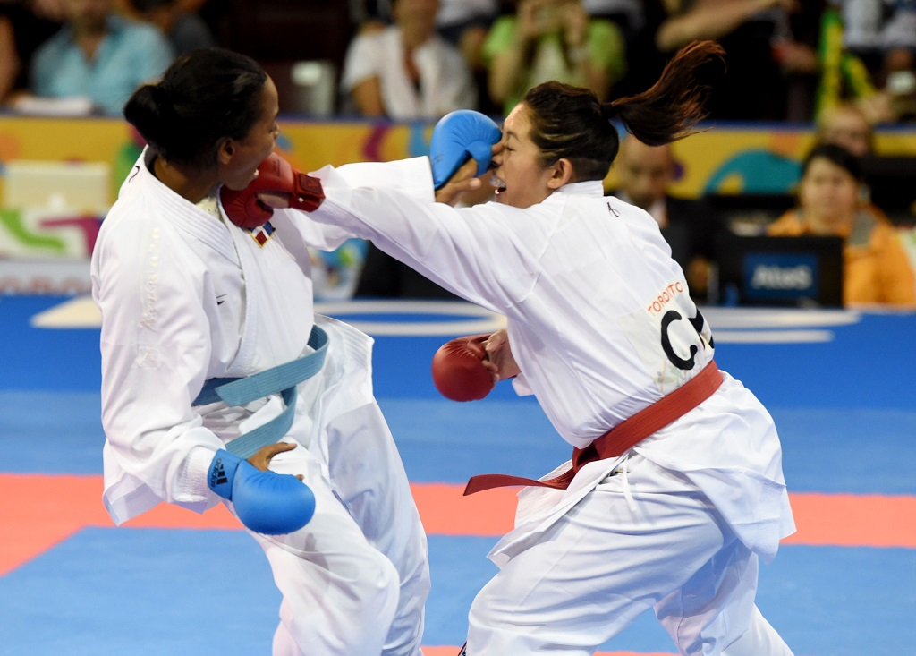 Ana Villanueva reedita título Panamericano karate
