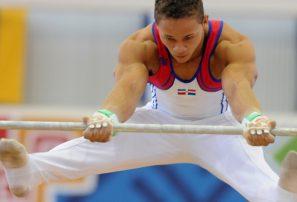 Audrys Nin gana plata y bronce en gimnasia