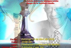 """Realizarán tercera Copa de Ajedrez """"El Internacional Billy Berroa"""""""