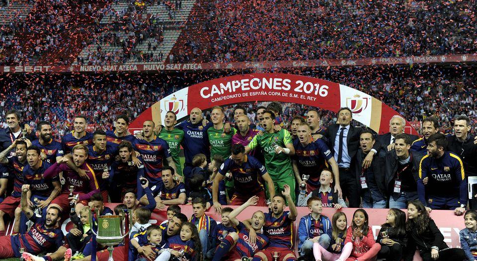 Messi ilumina a Barcelona y gana otra vez la Copa del Rey
