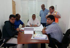 Pasan revista a trabajos proyecto La Nueva Barquita