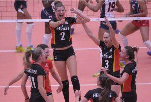Bélgica derrota al sexteto RD en mundial voleibol sub-18