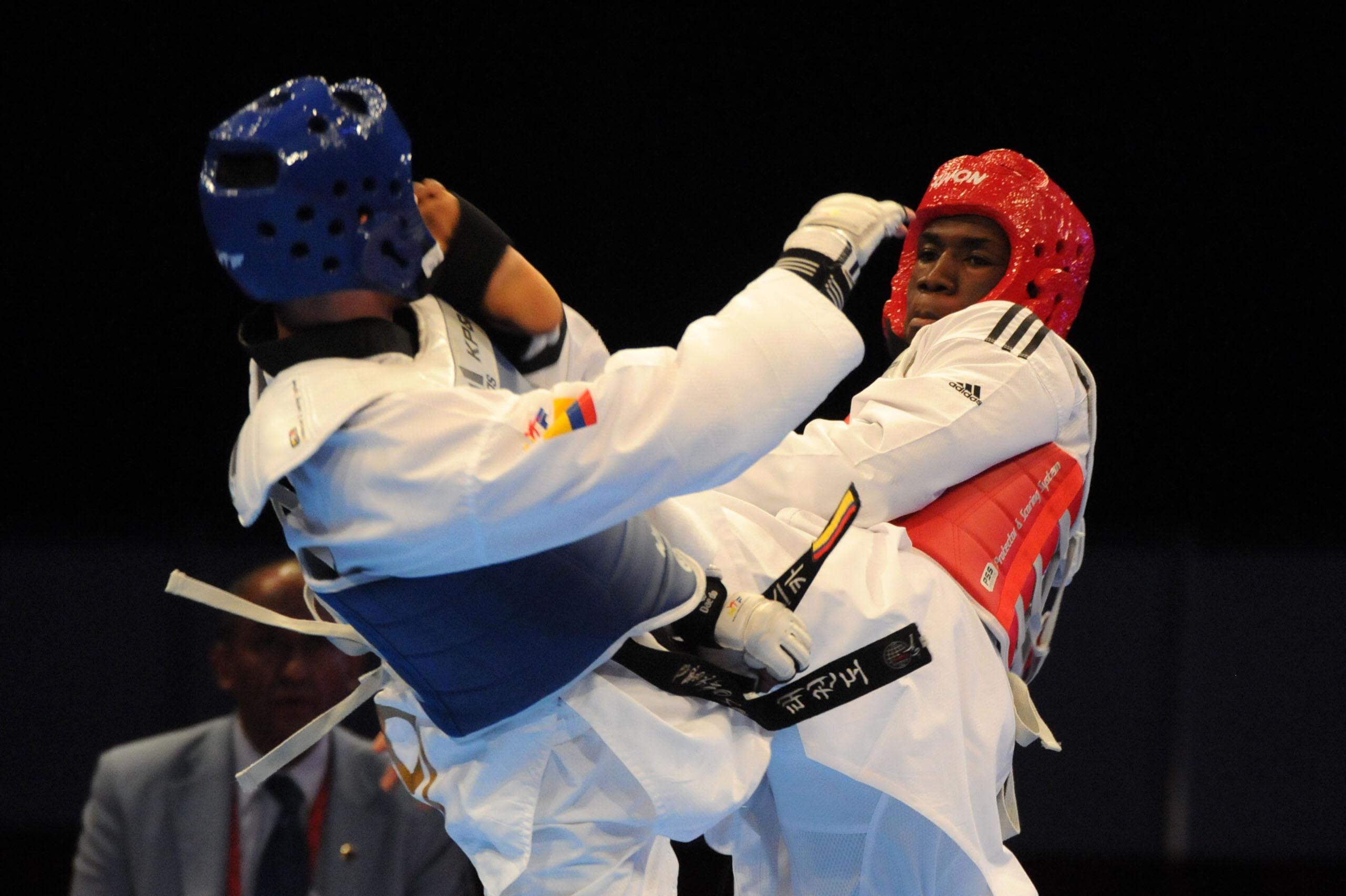 Bernardo Pie se queda con plata en taekwondo
