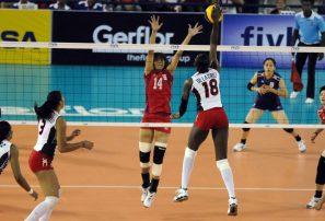 Voleibol RD sale a fogueo con Selección de Brasil