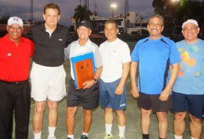 La Bocha y Marcial Mota Tennis Academy auspician clínica