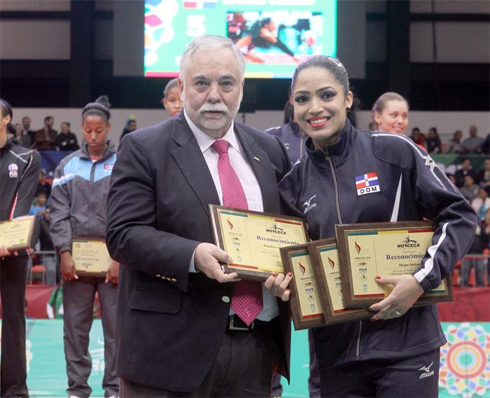 Brenda Castillo, la JMV del voleibol en los JCC