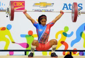 Atletas de pesas y gimnasia llegan a RD este jueves