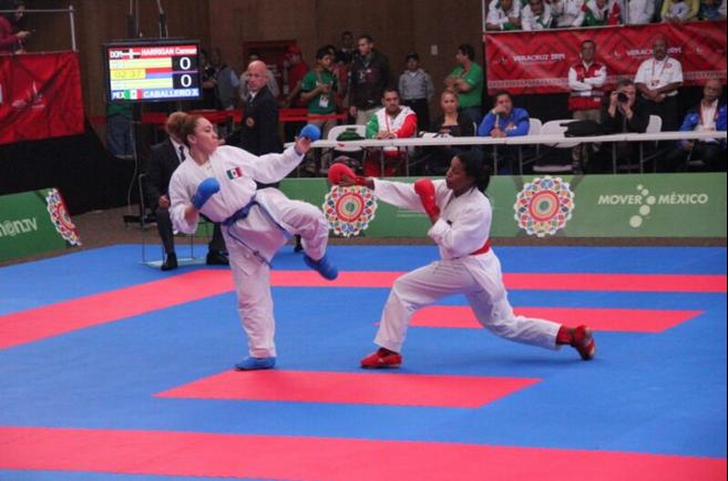 Harrigan y Dionicio, oro en karate; Pérez gana bronce