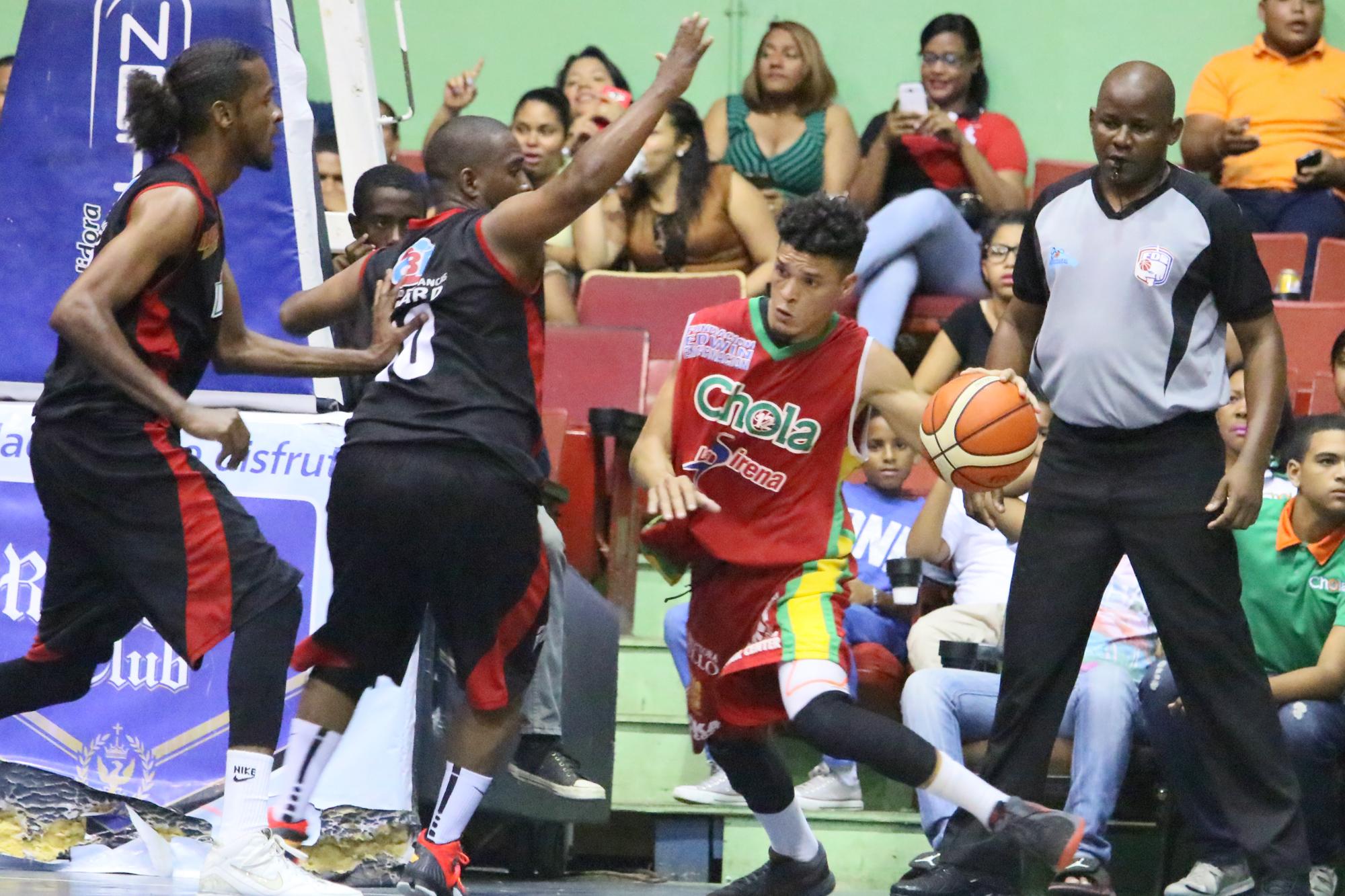 Chola empata la final del basket de La Romana