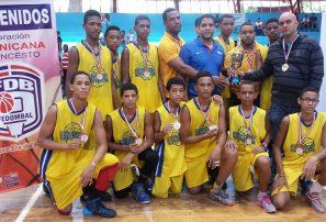 Equipo de Moca, campeón en nacional básquet sub-15